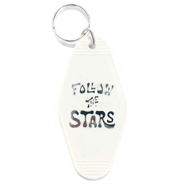 FOLLOW THE STARS KEY TAG