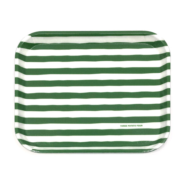 Green Stripes - Medium Tray (Pre-Order)