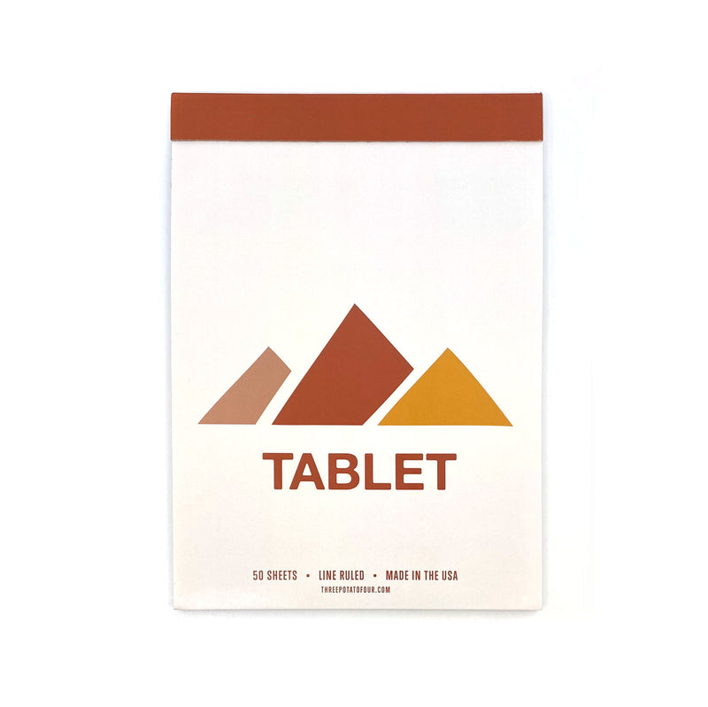 Tablet Notepad - Mountains