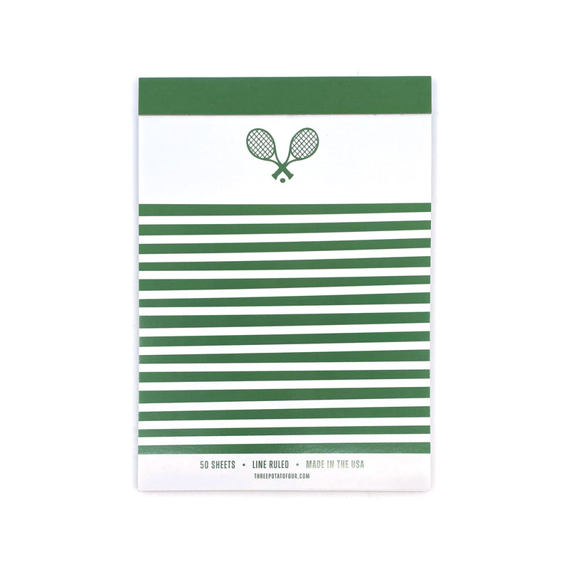 Tablet Notepad - Tennis