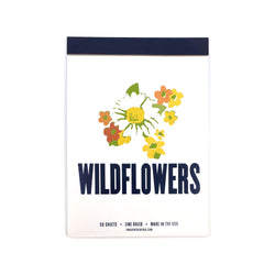 Tablet Notepad - Wildflowers