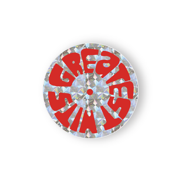 Prismatic Sticker - LP - Red