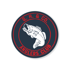 Sticker - Anglers Club