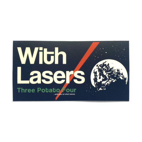 Sticker - With Lasers