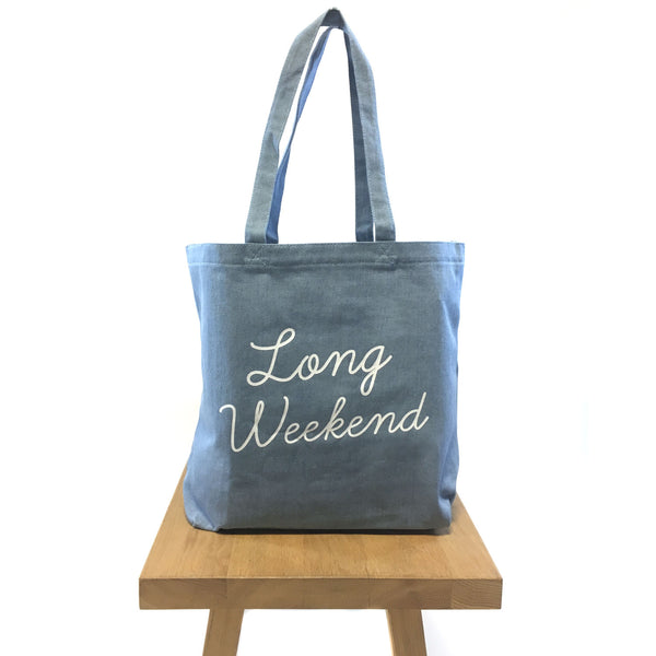Tote Bag - Long Weekend (Limited Edition Pre-Order)