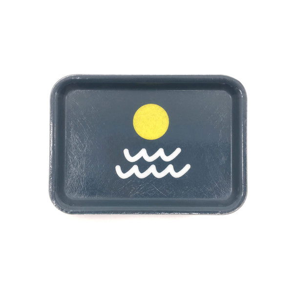 Sun / Waves - Small Trinket Tray (Pre-Order, Ships mid-March)