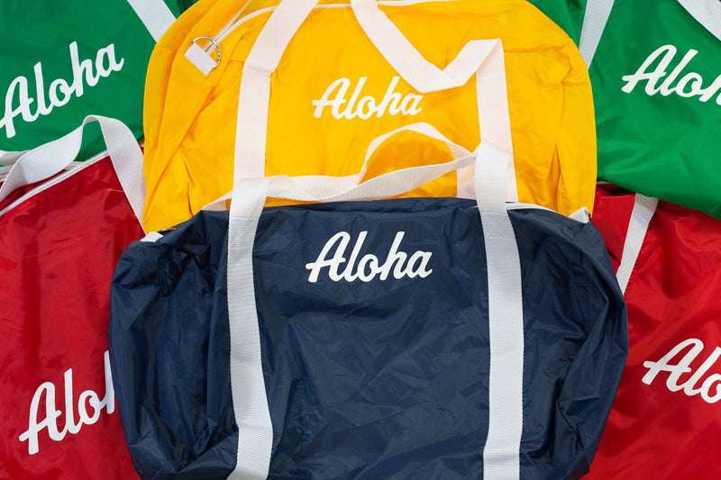 Aloha Retro Athletic Gym Bag