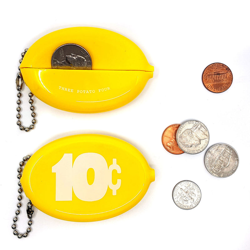 Coin Pouch - 10 Cents (Yellow)