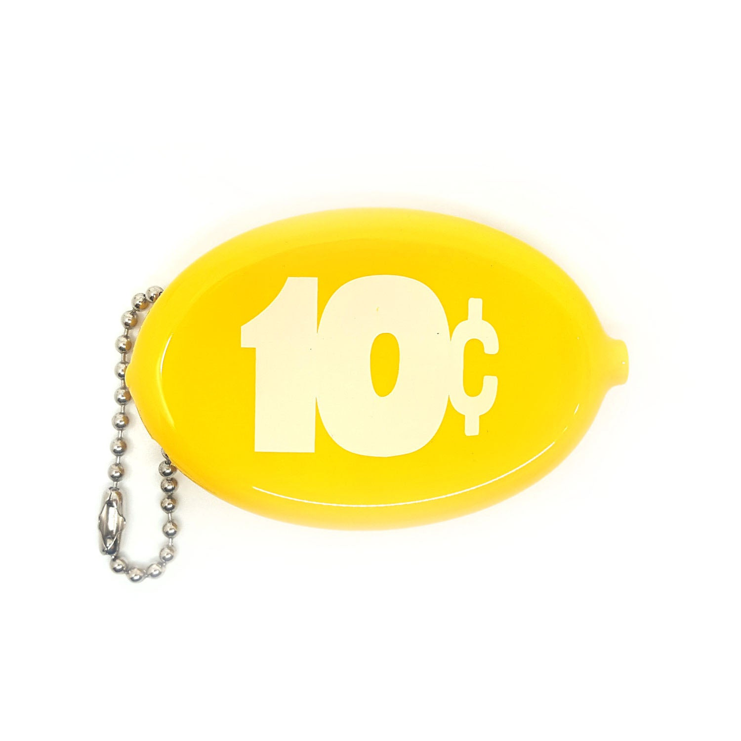 Coin Pouch 10 Cents Yellow Three Potato Four