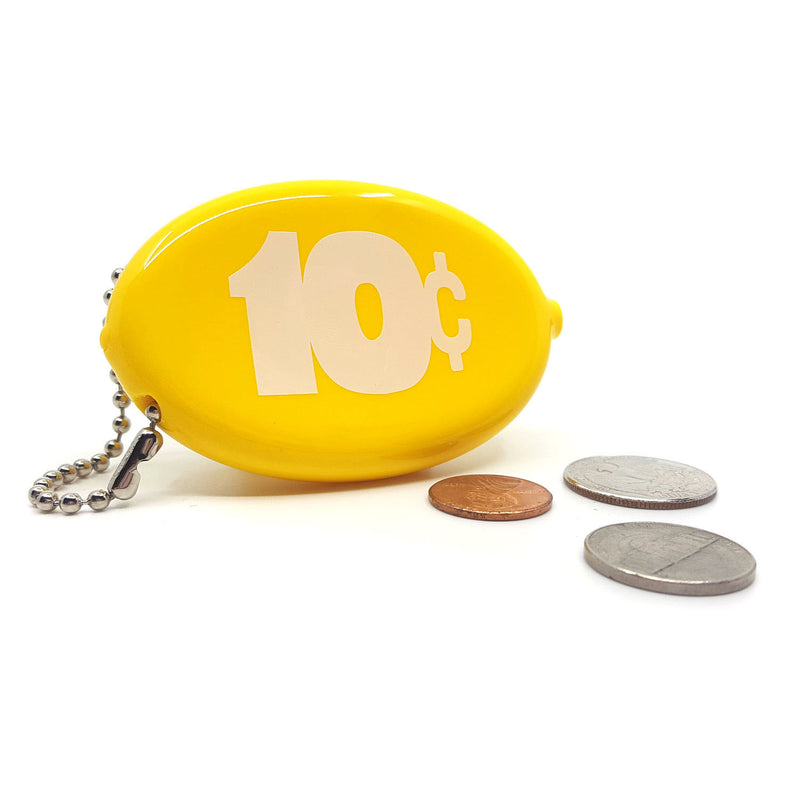 Coin Pouch - 10 Cents (Yellow) – THREE POTATO FOUR