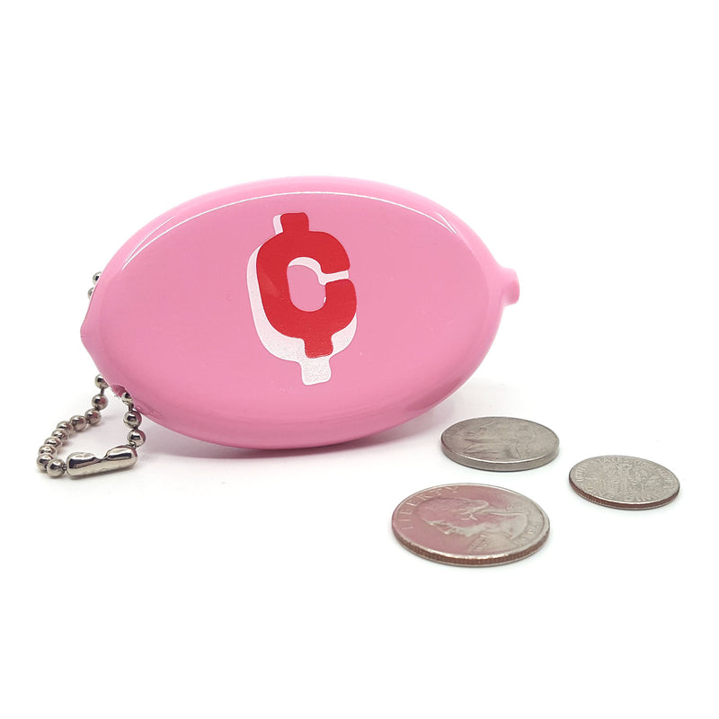 Coin Pouch - Cents (Pink)