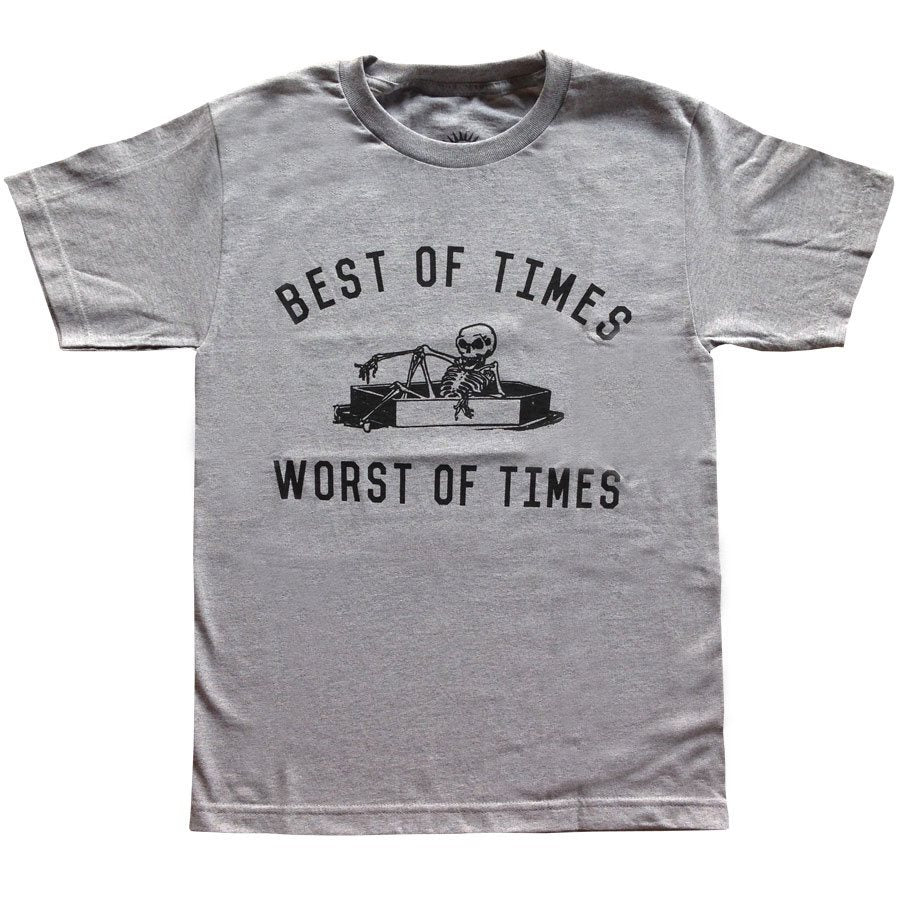 Best of Times Worst of Times Heather Tee