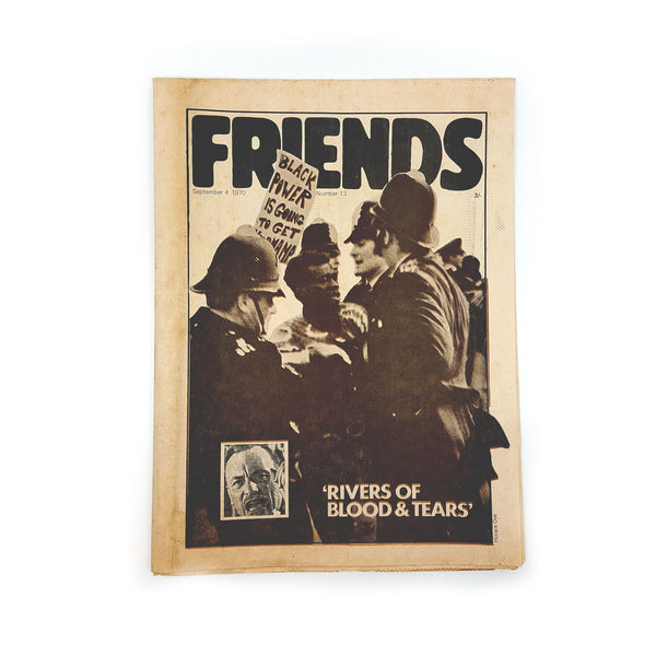 FRIENDS - UK Underground Counterculture Zine