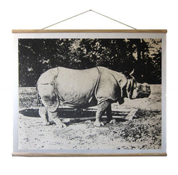 WALLHANGING: RHINOCEROS