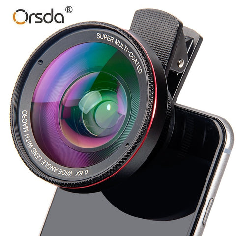Macro HD Camera Lens for Smartphone