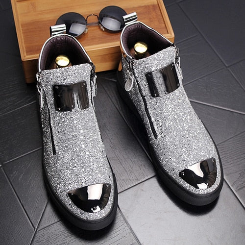 New Fashion Chelsea Leather Boots Autumn Winter Men Shoes