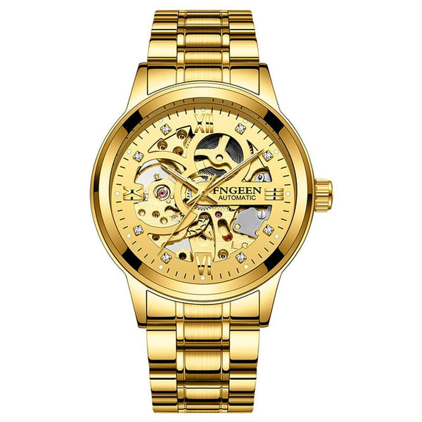 Skeleton Watch 2020 New FNGEEN Sport Mechanical Watch