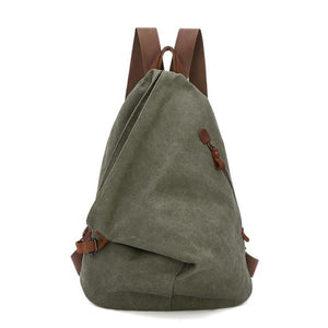 Multi function Vintage Canvas Travel Backpack