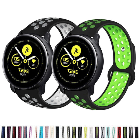 Samsung gear S3 Frontier Sport Breathable bracelet Galaxy watch