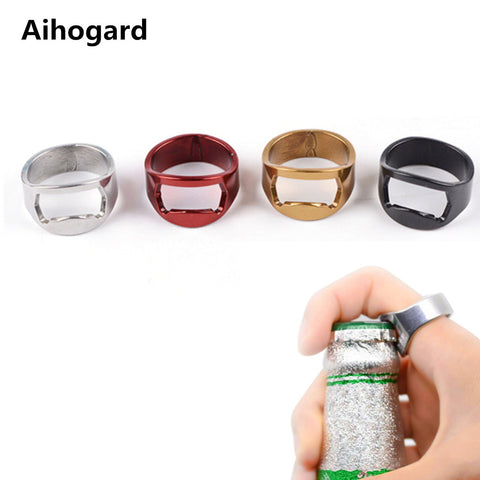 Bottle Opener Stainless Steel Ring
