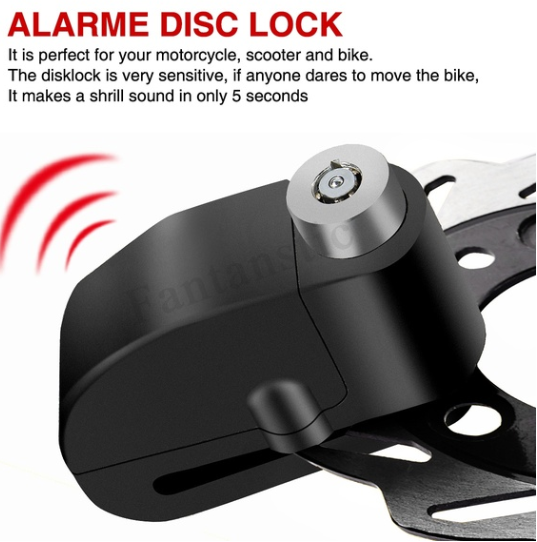 ( 40% OFF ) Universal 110 dB Alarm Disc Brake