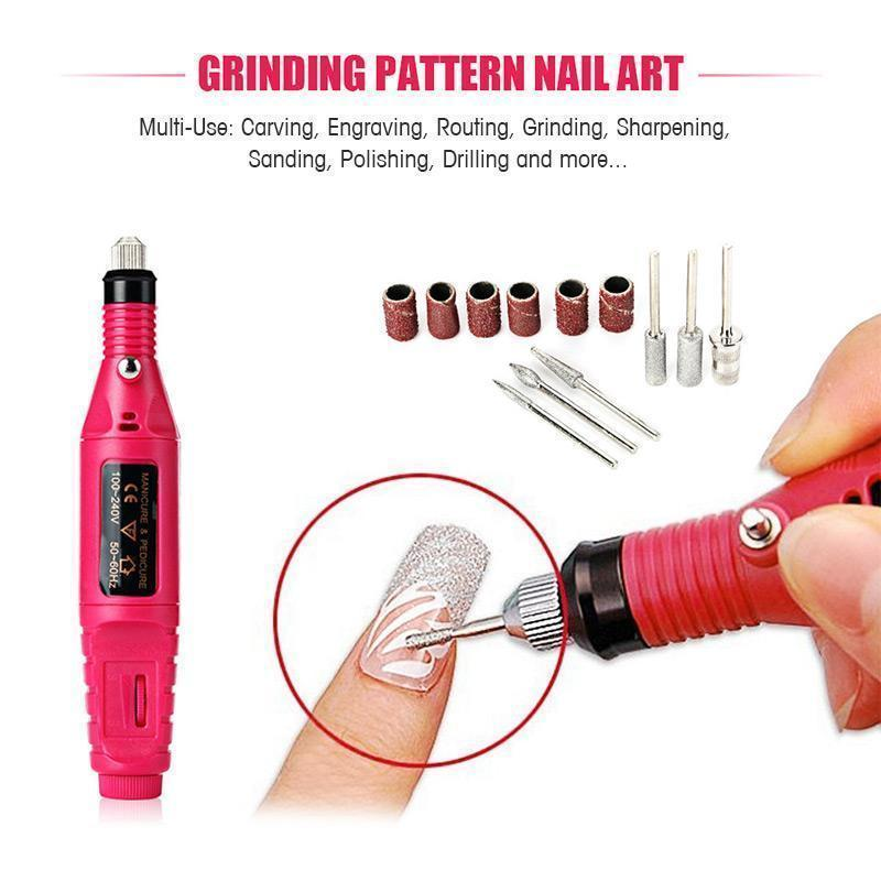 (Buy two free shipping)Nail Art Electric Nails Repair Drill Machine