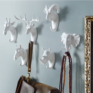 [50% OFF] Art Animal Head Wall Hook - Buy More Save More!