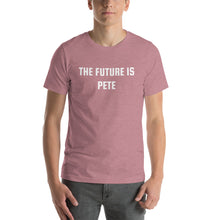 Load image into Gallery viewer, THE FUTURE IS PETE - Short-Sleeve Unisex T-Shirt