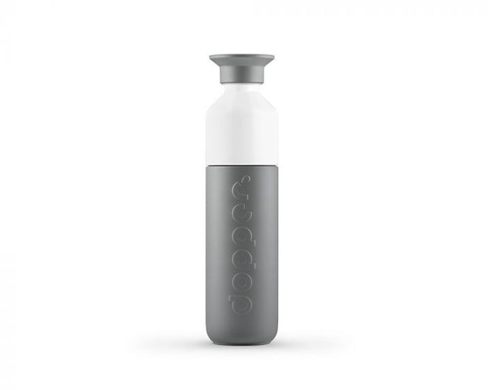 Dopper Dopper Insulated grey 350 ml. - A Lovely Day IJmuiden