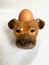 Afbeelding in Gallery-weergave laden, Quail Ceramics Quail Ceramics Egg Cup Border Terrier - A Lovely Day IJmuiden