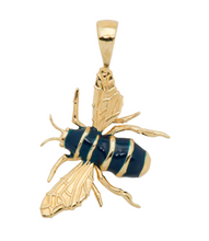 Afbeelding in Gallery-weergave laden, ANNA+NINA Anna+Nina Honey Bee Necklace Charm Goldplated - A Lovely Day IJmuiden