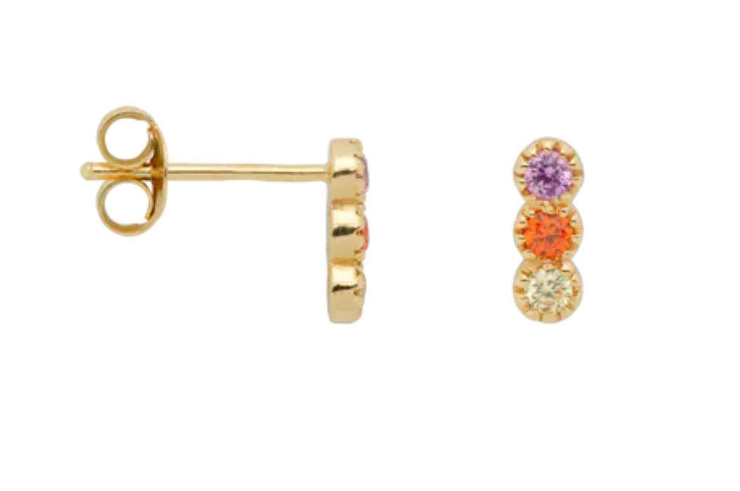ANNA+NINA Single Freedom Stud Earring