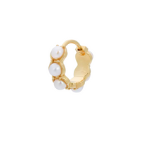 Afbeelding in Gallery-weergave laden, Anna+Nina Oorbel Single La Perla Ring Earring