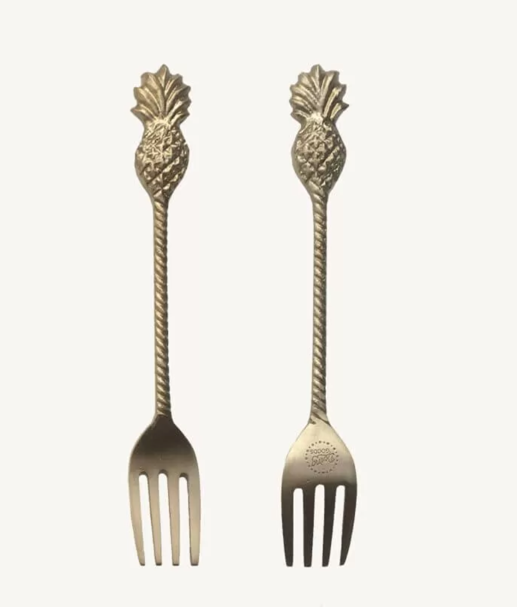 Doing Goods Pineapple Fork Set