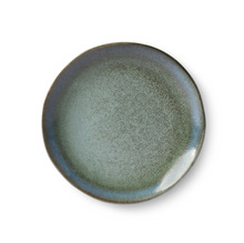 Afbeelding in Gallery-weergave laden, HKliving HKliving Ceramic 70's Dessert Plate Moss - A Lovely Day IJmuiden