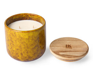 HKliving Geurkaars Ceramic Scented Candle Cocktails In Manhattan