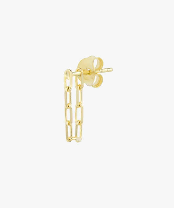 Wildthings Collectables Wildthings Collectables Chain Earring Gold - A Lovely Day IJmuiden
