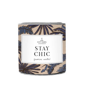 The Gift Label Geurkaars Stay Chic