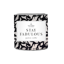 Afbeelding in Gallery-weergave laden, The Gift Label Geurkaars Stay Fabulous Fresh Cotton