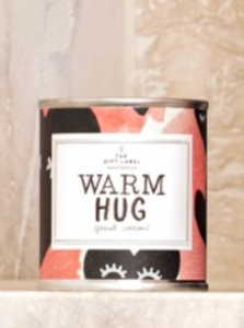 The Gift Label Geurkaars Warm hug Fresh Cotton