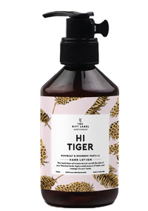 The Gift Label Hand Lotion Hi Tiger