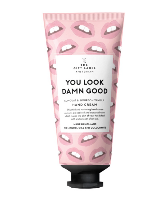 The Gift Label Handcrème You Look Damn Good