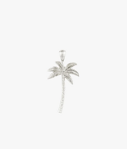 Wildthings Collectables Palm Tree Pendant Silver