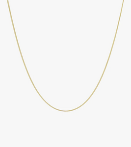 Wildthings Collectables Curb Chain Necklace Gold