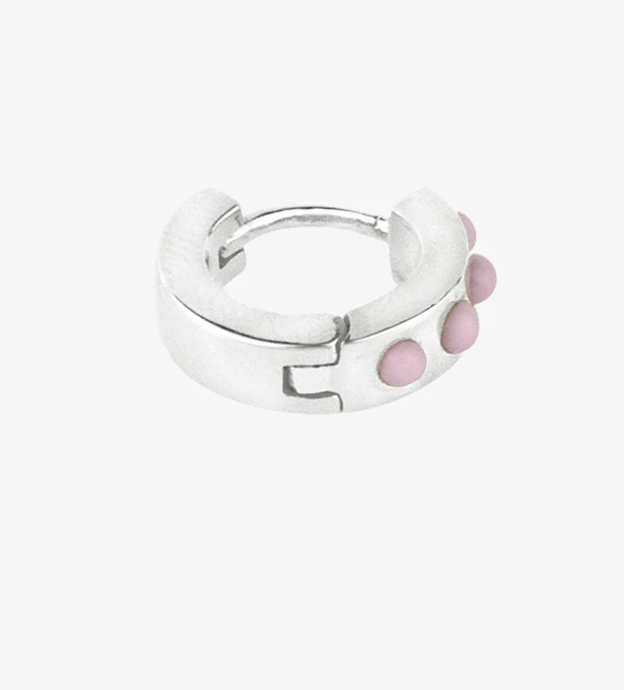 Wildthings Collectables Wildthings Collectables Pink Cloud Huggie Silver - A Lovely Day IJmuiden