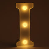 I letter shaped light from Hamster London. this product from Hamster London is sturdy and elegant and can be used as decoration pieces.