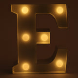 E letter shaped light from Hamster London for decoration purposes. it is a must have product for parties and kids bday party.