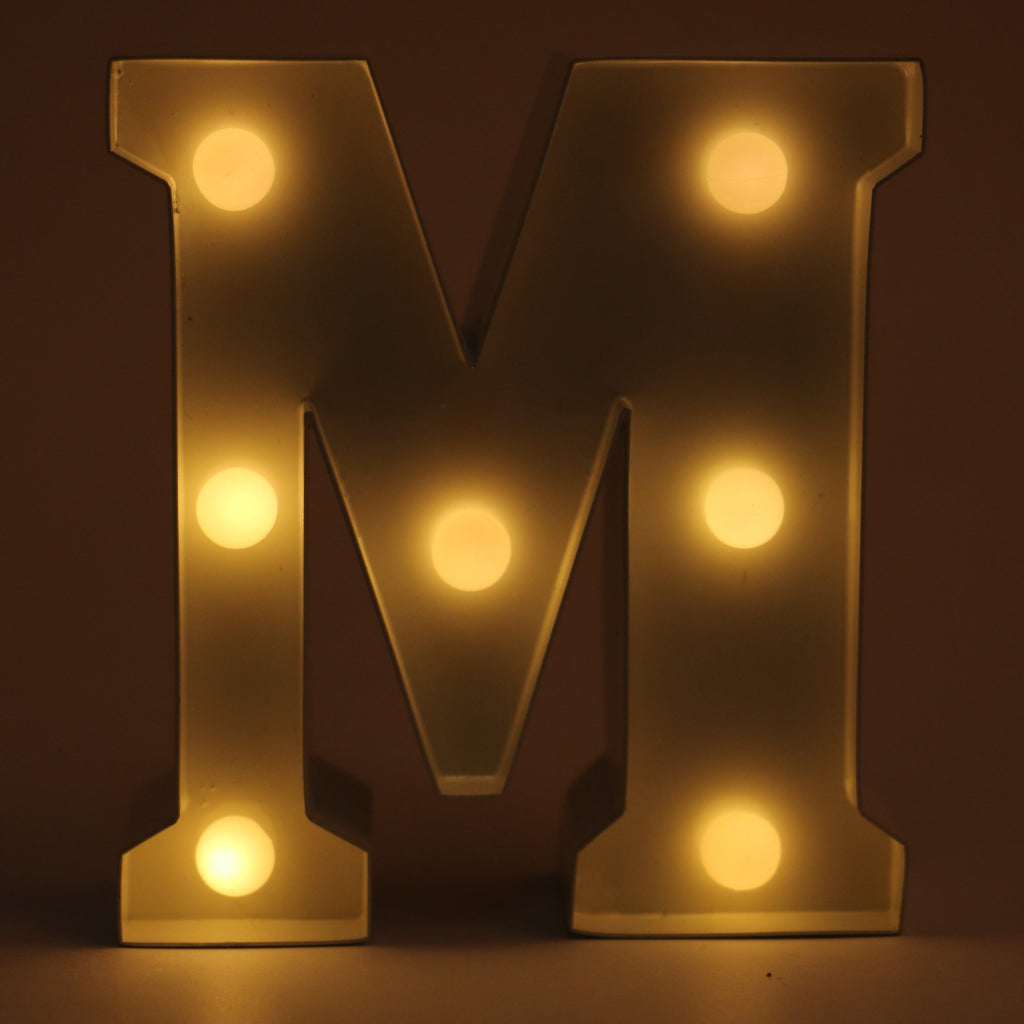 Alphabet LED Light (M)