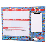 Hamster London white board with accessories(Blue).