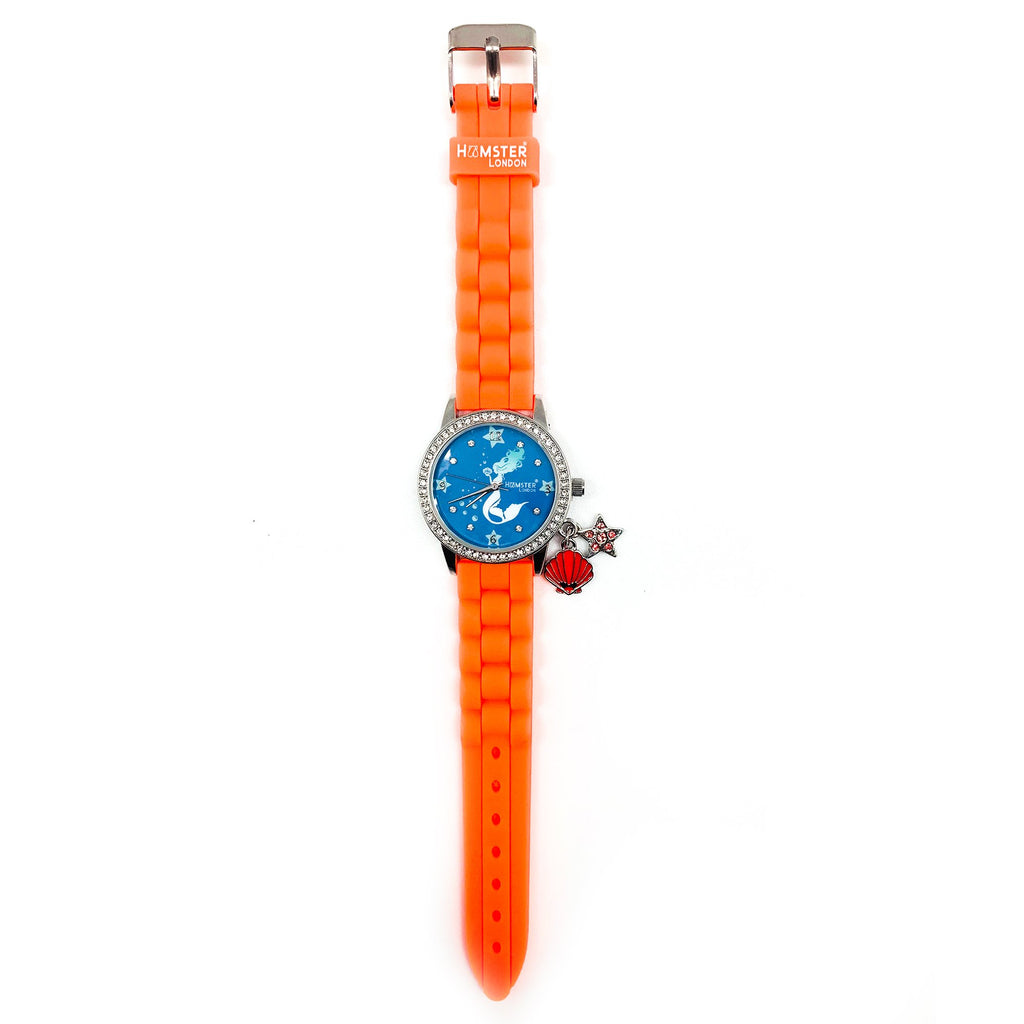 Sequence Peach Combo Watch + Pouch + Hand Bag